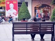 Tin tức - Ngắm hàng ghế làm từ gỗ 100 tuổi trên phố đi bộ đẹp nhất VN