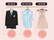 Nhà đẹp - Infographic: Mẹo dọn tủ quần áo gọn chưa từng thấy