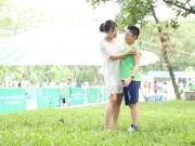 Khánh Linh vui hè cùng con trai riêng
