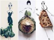 Thời trang - Váy xinh từ đồ ăn khiến bạn phải tròn mắt thích thú