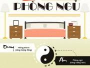 Nhà đẹp - Infographic: Phong thủy phòng ngủ cơ bản cần nắm vững