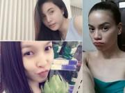 Làm đẹp - Sao Việt được khen ngợi khi để mặt mộc ngoài đời