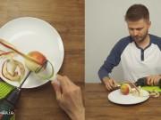 Clip Eva - Tự chế máy gọt táo siêu tốc