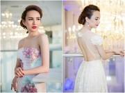 Thời trang - Hoa hậu Ngọc Diễm eo thon, lưng ong hút mắt người đối diện