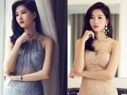 Thời trang - Hai nàng hoa hậu yêu váy ren cuồng nhiệt