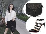 Thời trang - Angela Phương Trinh vẫn sành điệu với túi xách 700 ngàn đồng
