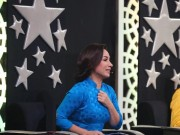 Làng sao - Ca sĩ Phi Nhung khóc và run sợ khi MC Anh Thơ ngã