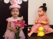 Làng sao - Con gái Đoan Trang xinh xắn đón sinh nhật 2 tuổi