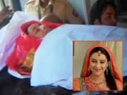 """Làng sao - Toàn cảnh đám tang """"Cô dâu 8 tuổi"""" Pratyusha Banerjee"""