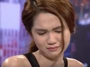 Clip Eva - Ngọc Trinh bỗng dưng bật khóc trong Cafe sáng