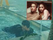 """Làng sao - Lộ ảnh Kai (EXO) """"khóa môi"""" Krystal F(x) tại khách sạn 5 sao"""