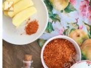 Bếp Eva - Tự làm muối tôm thơm ngon chấm hoa quả