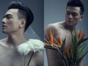 Thời trang - Chàng thơ của Đỗ Mạnh Cường chụp ảnh cùng hoa