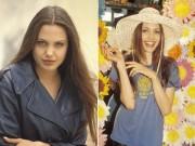 Làng sao - Ngắm Angelina Jolie nhí nhảnh thuở 19