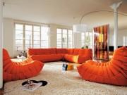 Nhà đẹp - Phòng khách sang với chiếc ghế sofa vượt thời gian - Togo