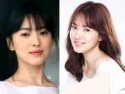 Làm đẹp - Để tóc mái thưa đẹp như Song Hye Kyo