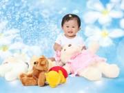 Ảnh đẹp của bé - Trần Đào Phương Vy - AD22301 - Em bé mê hát