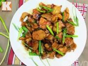 Bếp Eva - Thịt heo cháy cạnh xào chua ngọt ngon cơm