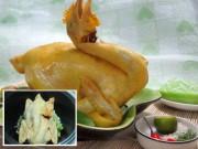 Bếp Eva - Những cách luộc gà không cần nước