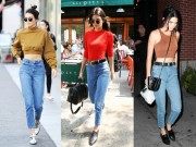 Thời trang - Học hot girl số 1 Hollywood cách chống ngán cho quần jeans