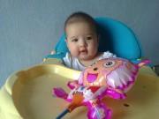 Ảnh đẹp của bé - Nguyễn Ngọc Hải Vân - AD35921 - Cô bé yêu âm nhạc