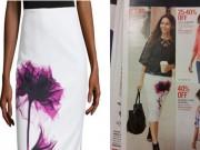 """Thời trang - Váy 600 ngàn họa tiết """"sự cố ngày đèn đỏ"""" gây xôn xao"""