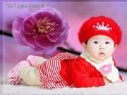 Ảnh đẹp của bé - Nguyễn Thảo Nguyên - AD25020 - Nàng Bông má phính