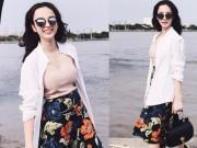 Tư vấn mặc đẹp - Angela Phương Trinh xinh lung linh dù mặc áo 275 ngàn