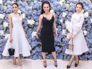Thời trang - Phạm Hương, Angela Phương Trinh kín đáo, Thu Minh gợi cảm tại sự kiện