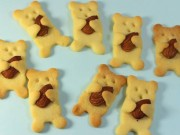 Bếp Eva - Bánh qui bơ hạnh nhân hình gấu ngộ nghĩnh cho bé