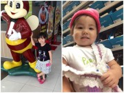 Ảnh đẹp của bé - Nguyễn Lê Cát Tiên - AD74212 - Miệng cười xinh xinh