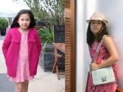 Làm mẹ - Ngắm con gái 9 tuổi nét cực xinh của ĐD Trần Lực
