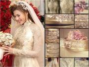 Thời trang - Cận cảnh áo dài kiêu sa, sang trọng của cô dâu Thúy Diễm