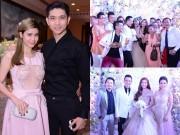 Làng sao - Đông đảo sao Việt dự đám cưới Lương Thế Thành - Thúy Diễm