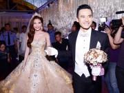 Làng sao - Thúy Diễm như công chúa cổ tích với váy cưới 250 triệu đồng