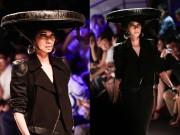 Thời trang - Xuân Lan bất ngờ đội nón quai thao tái xuất sàn catwalk
