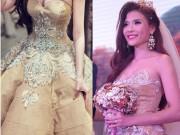 Thời trang - Chiêm ngưỡng váy cưới 250 triệu gây choáng của Thúy Diễm