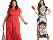 Thời trang - Giúp nàng béo chọn váy maxi thật đẹp diện hè