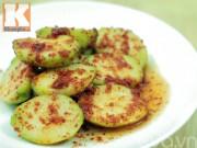Bếp Eva - Cóc bao tử lắc muối ô mai, ớt siêu ngon cuối tuần