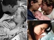 Bà bầu - Nghẹn lòng những hình ảnh bố mẹ chụp cùng con đã chết