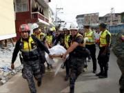 Tin tức - Lời kể rợn người của nạn nhân động đất Ecuador