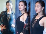 Thời trang - Maya 'thả rông' vòng 1 với mốt áo đan dây hot nhất hè 2016