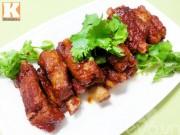 Bếp Eva - Sườn sốt cay kiểu Hàn vừa ngon lại dễ làm