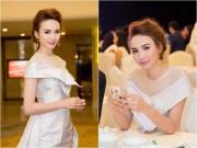 Làng sao - Hoa hậu Ngọc Diễm lộng lẫy, kiêu sa trong đêm tiệc