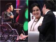 Làng sao - Yanbi bị gãy xương đùi, ngồi xe lăn đi thi X-Factor