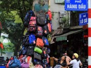Tin tức - Kỳ lạ hình ảnh cây xanh... bán hàng ở Hà Nội