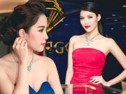 Tin tức thời trang - Lan Khuê, Nam Em đẳng cấp tại Tuần lễ Kim cương & Đá quý SJC