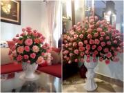 """Nhà đẹp - Những bình hồng trăm bông """"nhìn là yêu"""" của mẹ U40"""