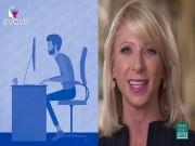 Clip Eva - Chỉ vài phút ngồi thẳng giúp cải thiện tâm trạng, giảm stress