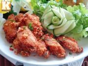 Bếp Eva - Cánh gà chiên giòn ngon cơm ngày mát trời